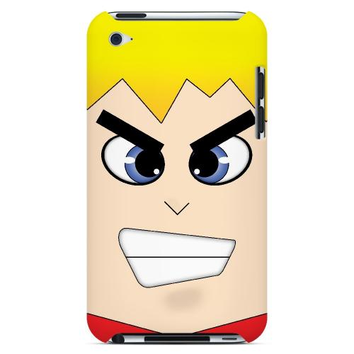 Shoken - Geeks Designer Line Toon Series Hard Case for Apple iPod Touch 4