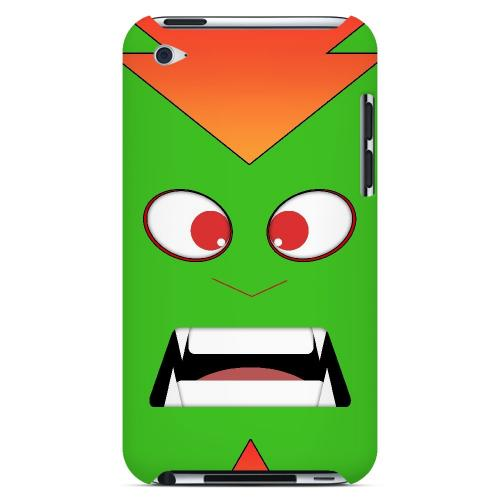 Electric Beast - Geeks Designer Line Toon Series Hard Case for Apple iPod Touch 4