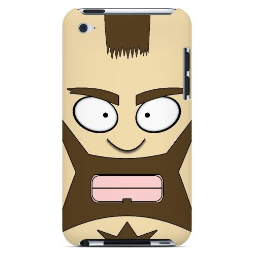 Zman - Geeks Designer Line Toon Series Hard Case for Apple iPod Touch 4