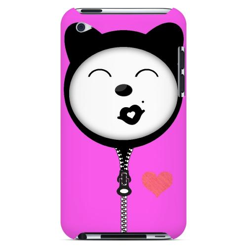 Kissycat - Geeks Designer Line Hoodie Kitty Series Hard Case for Apple iPod Touch 4
