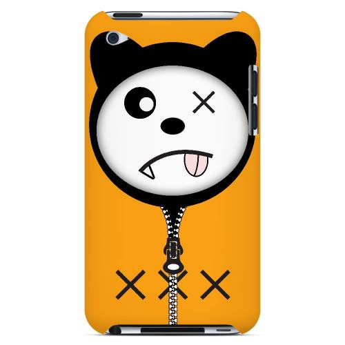 XXX - Geeks Designer Line Hoodie Kitty Series Hard Case for Apple iPod Touch 4