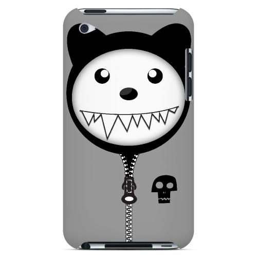 Grimmycat - Geeks Designer Line Hoodie Kitty Series Hard Case for Apple iPod Touch 4