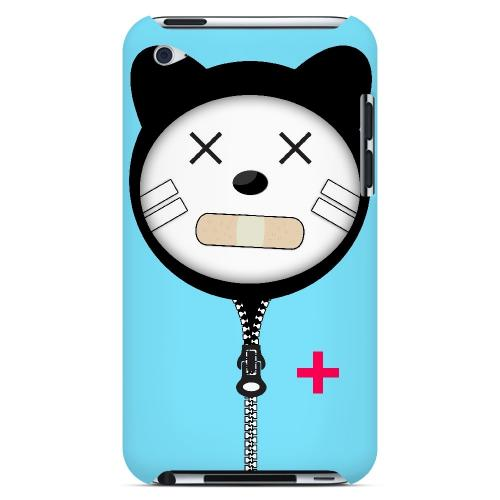 Calamikitty - Geeks Designer Line Hoodie Kitty Series Hard Case for Apple iPod Touch 4