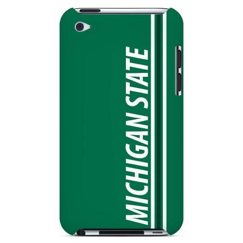 Michigan State - Geeks Designer Line March Madness Series Hard Case for Apple iPod Touch 4