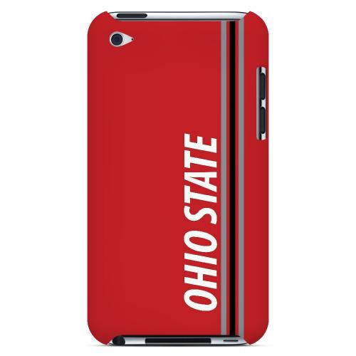 Ohio State - Geeks Designer Line March Madness Series Hard Case for Apple iPod Touch 4