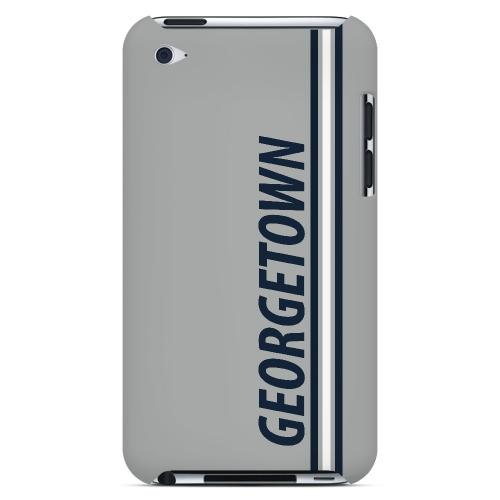 Georgetown - Geeks Designer Line March Madness Series Hard Case for Apple iPod Touch 4