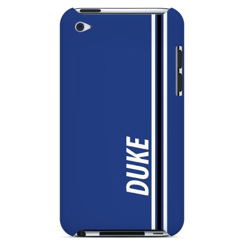 Duke - Geeks Designer Line March Madness Series Hard Case for Apple iPod Touch 4