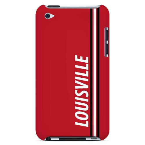 Louisville - Geeks Designer Line March Madness Series Hard Case for Apple iPod Touch 4