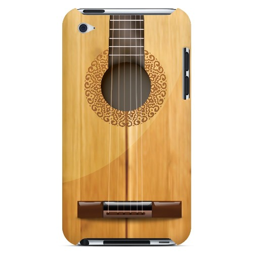 Acoustic Guitar - Geeks Designer Line Music Series Hard Case for Apple iPod Touch 4