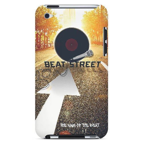 Beatstreet - Geeks Designer Line Music Series Hard Case for Apple iPod Touch 4