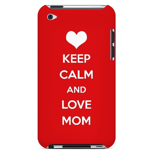 Love Mom - Geeks Designer Line Mom Series Hard Case for Apple iPod Touch 4