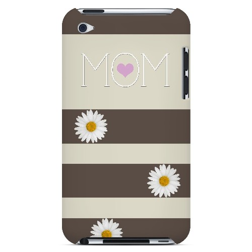 Mom Daisy - Geeks Designer Line Mom Series Hard Case for Apple iPod Touch 4