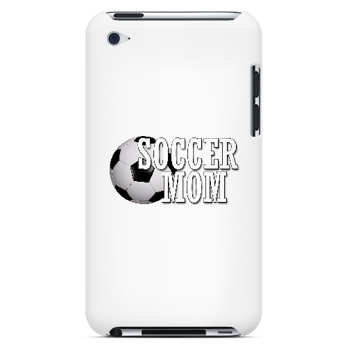 Soccer Mom - Geeks Designer Line Mom Series Hard Case for Apple iPod Touch 4