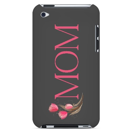 Tulips Mom - Geeks Designer Line Mom Series Hard Case for Apple iPod Touch 4