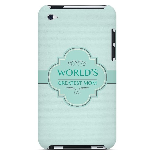 Vintage World's Greatest Mom - Geeks Designer Line Mom Series Hard Case for Apple iPod Touch 4