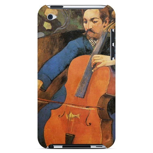 The Cellist by Paul Gauguin - Geeks Designer Line Artist Series Hard Case for Apple iPod Touch 4