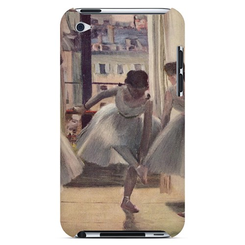 Three Dancers in an Exercise Hall by Edgar Degas - Geeks Designer Line Artist Series Hard Case for Apple iPod Touch 4