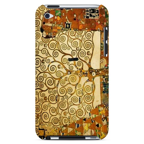 Tree of Life by Gustav Klimt - Geeks Designer Line Artist Series Hard Case for Apple iPod Touch 4