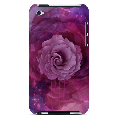 Space Bloom - Geeks Designer Line Spring Series Hard Case for Apple iPod Touch 4