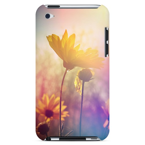 Colorful Daisy Bloom - Geeks Designer Line Spring Series Hard Case for Apple iPod Touch 4