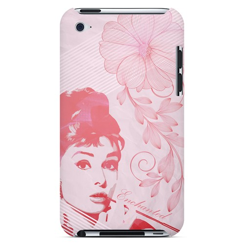 Enchanted - Geeks Designer Line Spring Series Hard Case for Apple iPod Touch 4