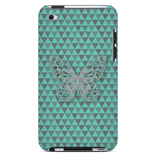 Butterfly Crypsis - Geeks Designer Line Spring Series Hard Case for Apple iPod Touch 4
