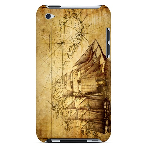 British Sea Power - Geeks Designer Line Map Series Hard Case for Apple iPod Touch 4
