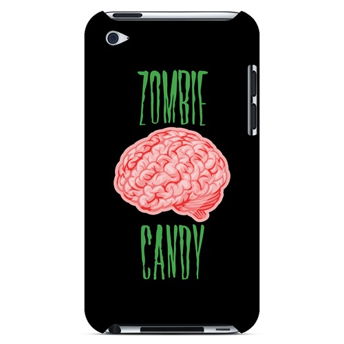 Zombie Candy - Geeks Designer Line Apocalyptic Series Hard Case for Apple iPod Touch 4