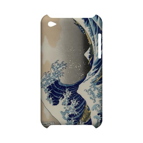 Katsushika Hokusai The Great Wave Off Kanagawa Geeks Designer Line Artist Series Slim Hard Case for Apple iPod Touch 4