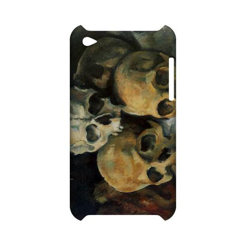 Paul Cezanne Pyramid of Skulls Geeks Designer Line Artist Series Slim Hard Case for Apple iPod Touch 4