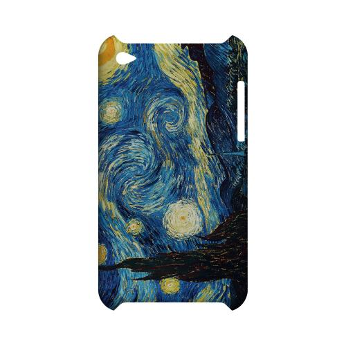 Vincent Van Gogh Starry Night Geeks Designer Line Artist Series Slim Hard Case for Apple iPod Touch 4