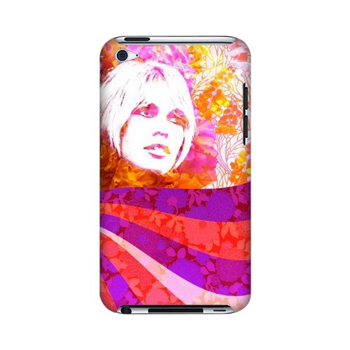 Flowerchild Americana Nostalgia Series GDL Ultra Slim Hard Case for Apple iPod Touch 4 Geeks Designer Line