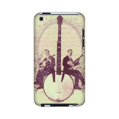 Folk Americana Nostalgia Series GDL Ultra Slim Hard Case for Apple iPod Touch 4 Geeks Designer Line