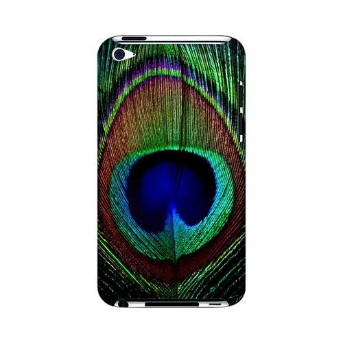 Colorful Peacock Feather Animal Series GDL Ultra Slim Hard Case for Apple iPod Touch 4 Geeks Designer Line