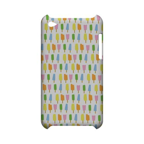 Assorted Popsicles Geeks Designer Line Candy Series Slim Hard Back Cover for Apple iPod Touch 4
