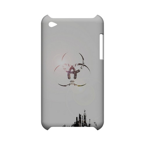 Ghost Town - Geeks Designer Line (GDL) Retro Series Hard Back Cover for Apple iPod Touch 4