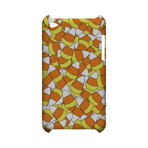 Candy Corn Galore Geeks Designer Line Candy Series Slim Hard Back Cover for Apple iPod Touch 4