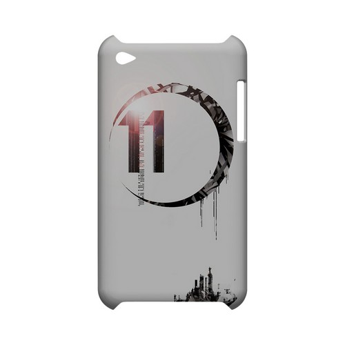 Moon 11 - Geeks Designer Line (GDL) Retro Series Hard Back Cover for Apple iPod Touch 4