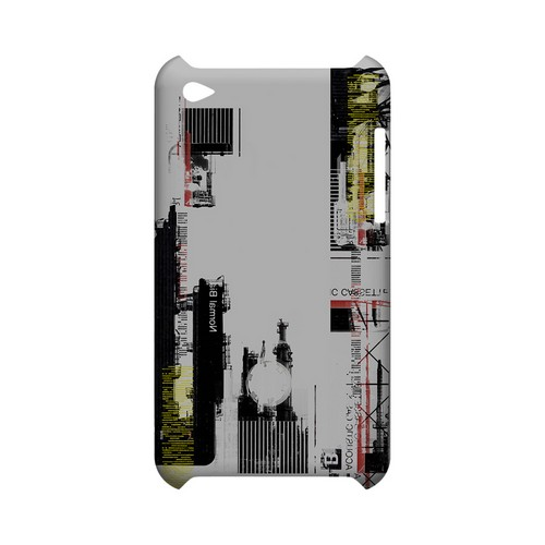 Industrial District - Geeks Designer Line (GDL) Retro Series Hard Back Cover for Apple iPod Touch 4