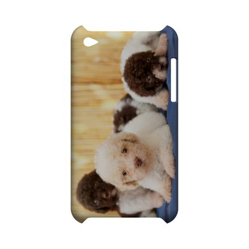 Three Buddies Geeks Designer Line Puppy Series Slim Hard Case for Apple iPod Touch 4