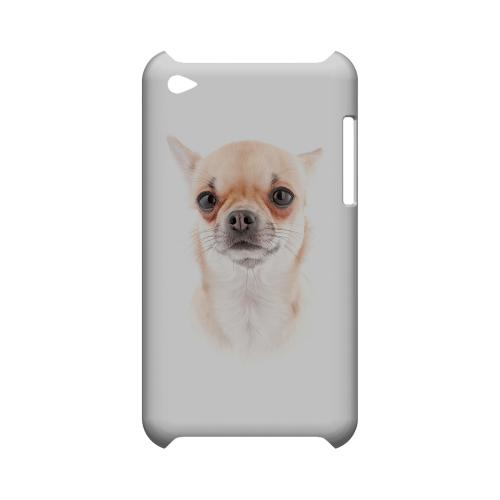 Chihuahua Geeks Designer Line Puppy Series Slim Hard Case for Apple iPod Touch 4