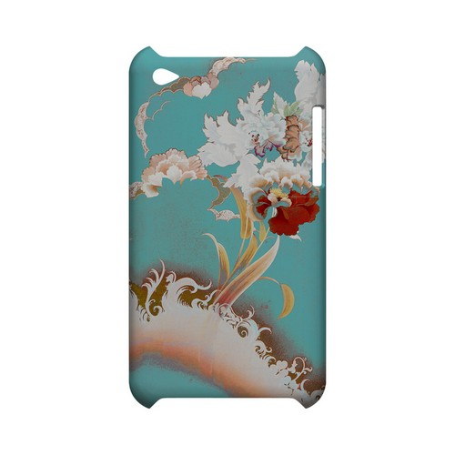 Flower Wave - Geeks Designer Line (GDL) Asian Print Series Hard Back Cover for Apple iPod Touch 4