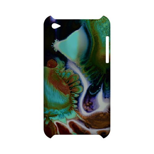 Shades of Eunmi - Geeks Designer Line (GDL) Asian Print Series Hard Back Cover for Apple iPod Touch 4