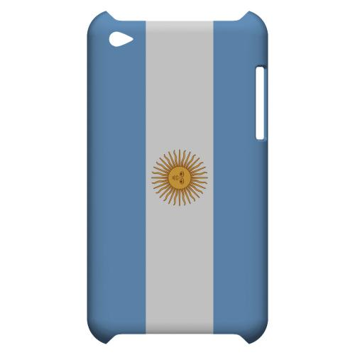 Argentina Geeks Designer Line Flag Series Slim Hard Case for Apple iPod Touch 4