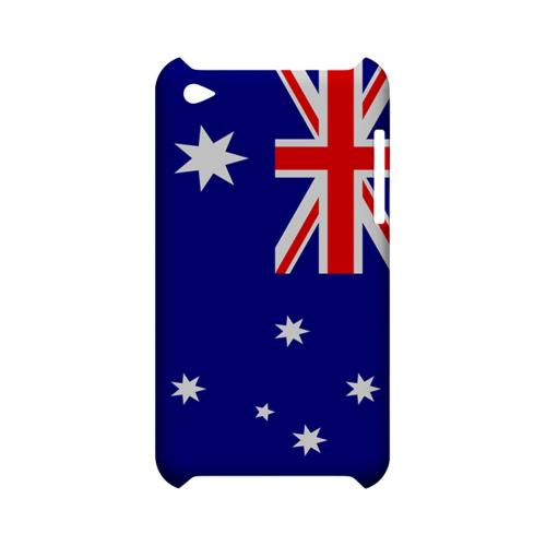 Australia Geeks Designer Line Flag Series Slim Hard Case for Apple iPod Touch 4
