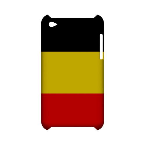 Belgium Geeks Designer Line Flag Series Slim Hard Case for Apple iPod Touch 4