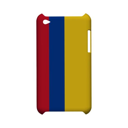 Columbia Geeks Designer Line Flag Series Slim Hard Case for Apple iPod Touch 4
