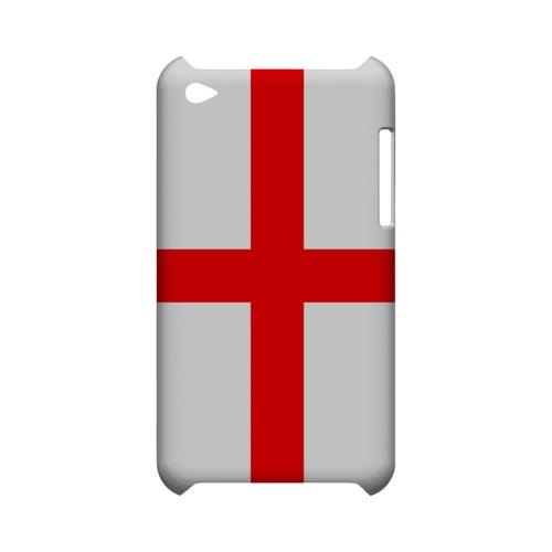 England Geeks Designer Line Flag Series Slim Hard Case for Apple iPod Touch 4