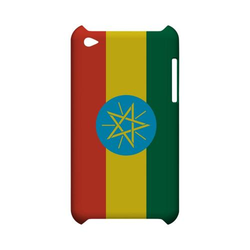 Ethiopia Geeks Designer Line Flag Series Slim Hard Case for Apple iPod Touch 4