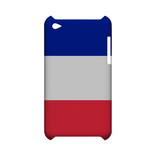 France Geeks Designer Line Flag Series Slim Hard Case for Apple iPod Touch 4